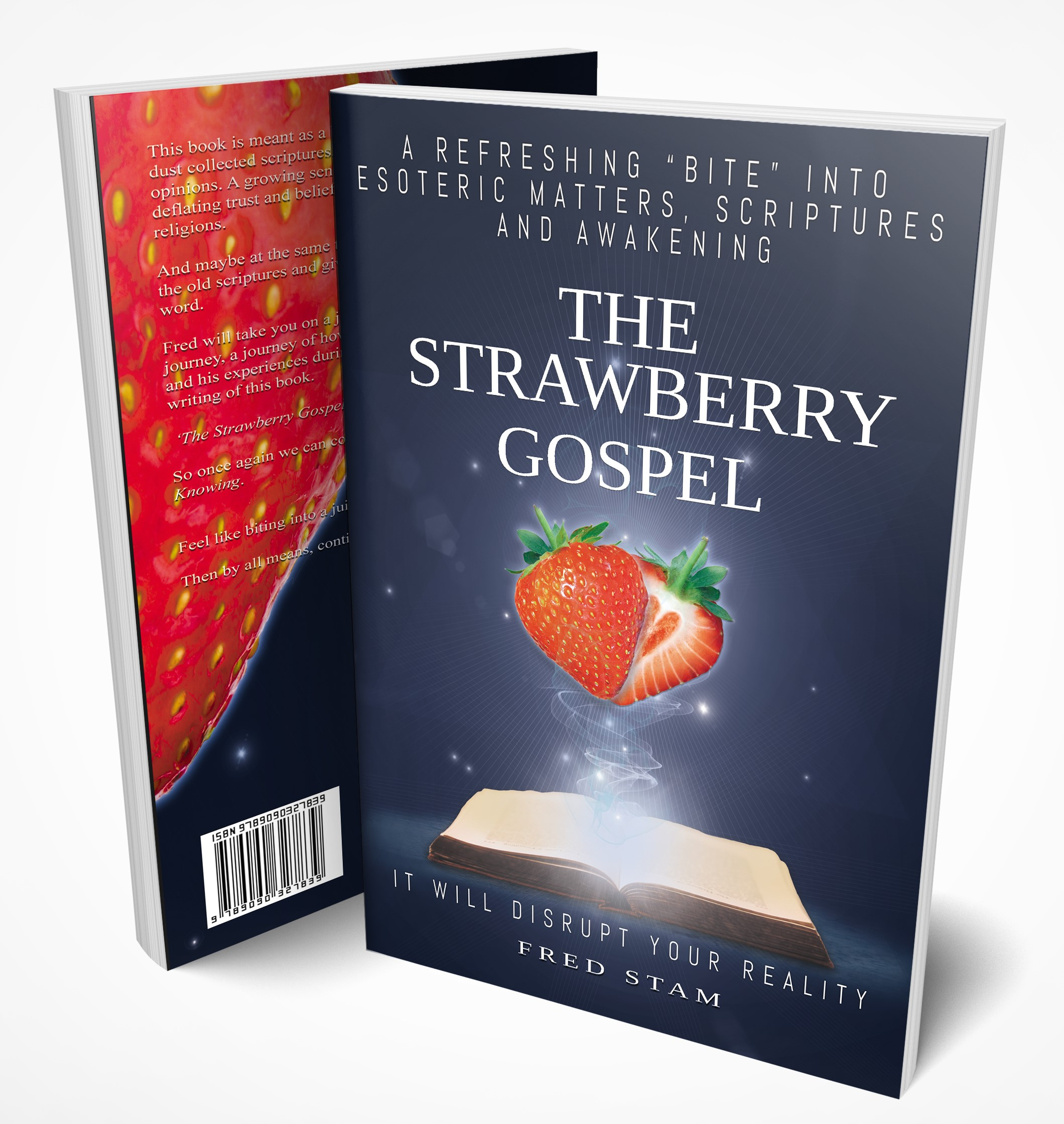 The Strawberry Gospel - Book Mock up